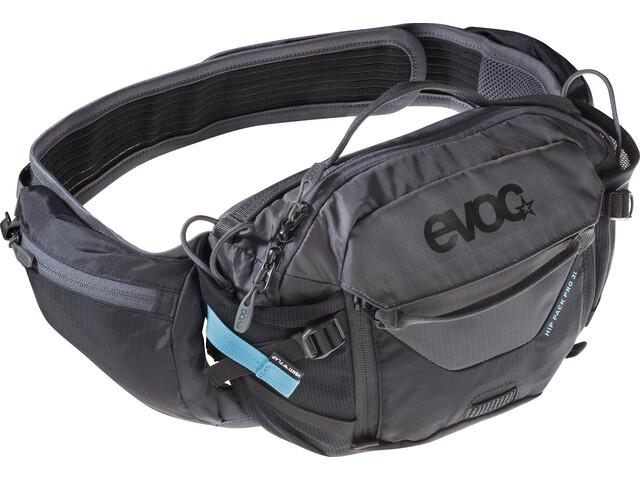 EVOC Hip Pack Pro medium, black/carbon grey